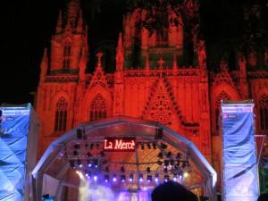 Live-Musik vor der Kathedrale